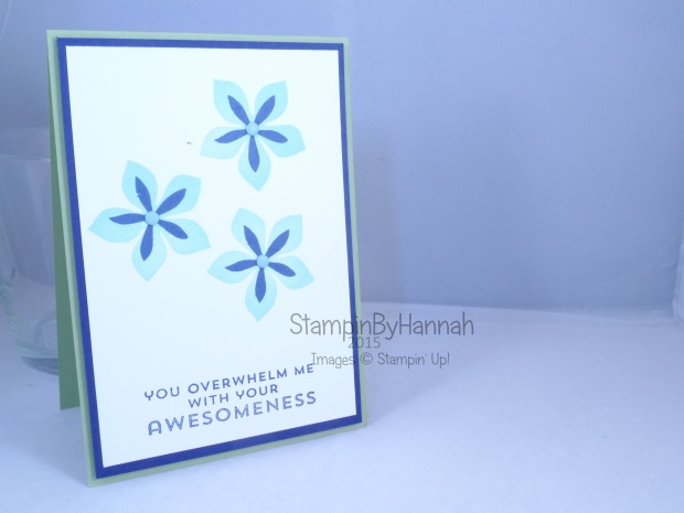 Stampin' Up! UK Flower Patch Cardmaking classes