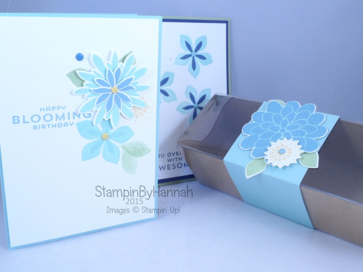 Stampin' Up! UK Flower Patch Craft Classes on Teesside