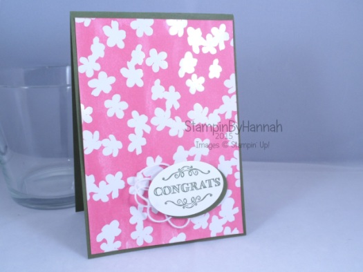Stampin' Up! UK sale-a-bration SAB irresistibly yours designer series paper