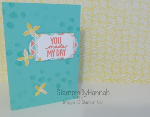 Stampin' Up! UK Sale-a-bration best day ever