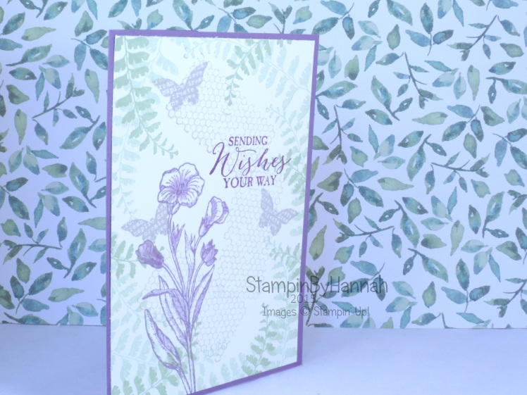 Stampin' Up! UK Butterfly Basics Design Team Perfect Plum