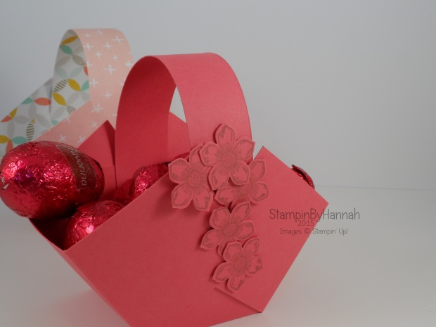 Stampin' Up! UK Easter Egg Basket Video