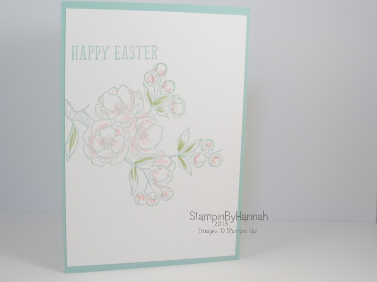 Stampin' Up! UK Indescribable gift Easter