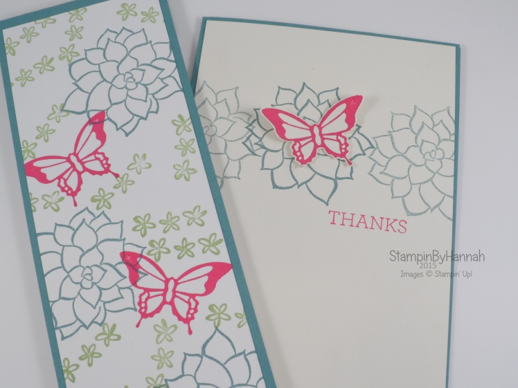 Stampin' Up! UK Sale-a-bration Natures Perfection