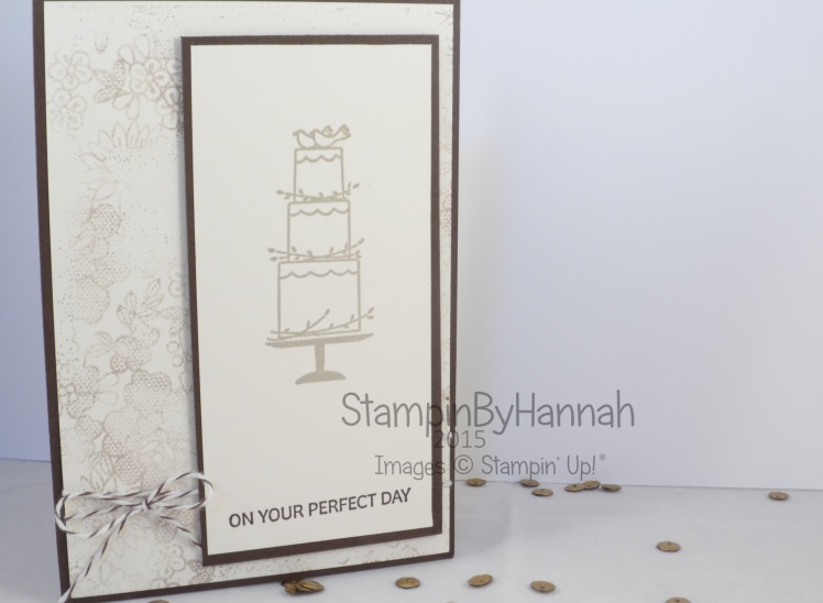 Stampin' Up! UK Freshly Made Sketches #183 Your Perfect Day
