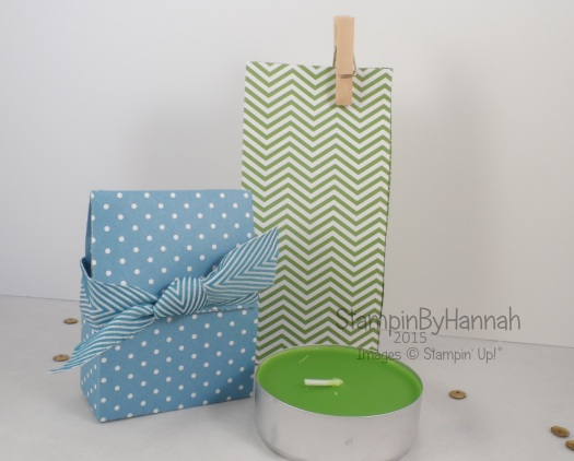 Stampin' Up! UK Ikea Giant Tealight Bag Video Tutorial
