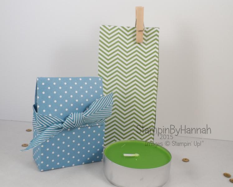 Stampin' Up! UK Ikea Giant Tealight Bag Video Tutorial