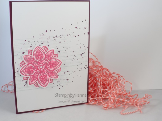 Stampin' Up! UK Gorgeous Grunge Petal Potpourri