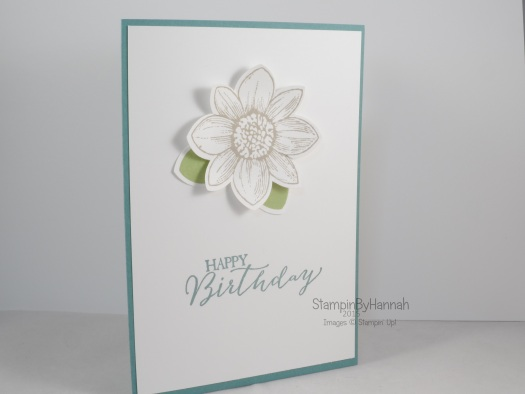 Stampin' Up! UK Party make and take