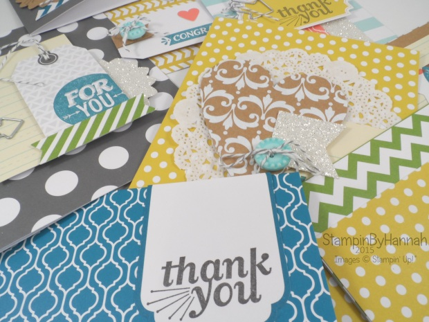 Stampin' Up! UK everyday occasions