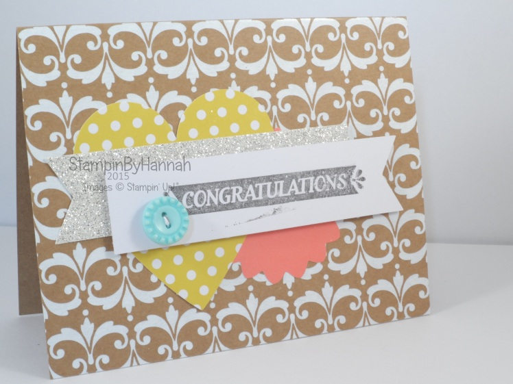 Stampin' Up! UK Everyday Occasions Congratulations