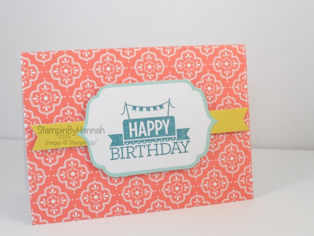 Stampin' Up! UK Everyday Occasions Happy Birthday