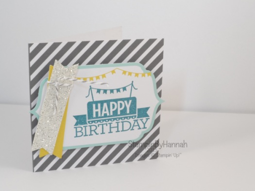 Stampin' Up! UK Everyday Occasions Happy Birthday mini