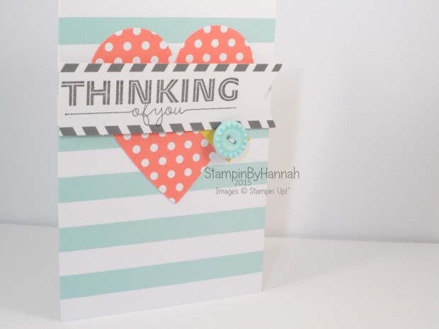 Stampin' Up! UK Everyday Occasions Thinking of you