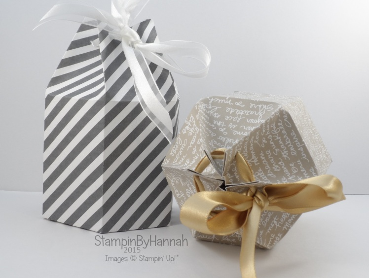 Stampin' Up! UK candle gift designer series paper stack