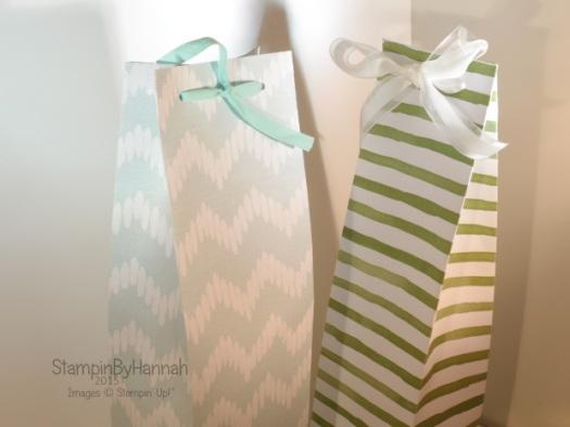 Stampin' Up! UK large gift bag video tutorial