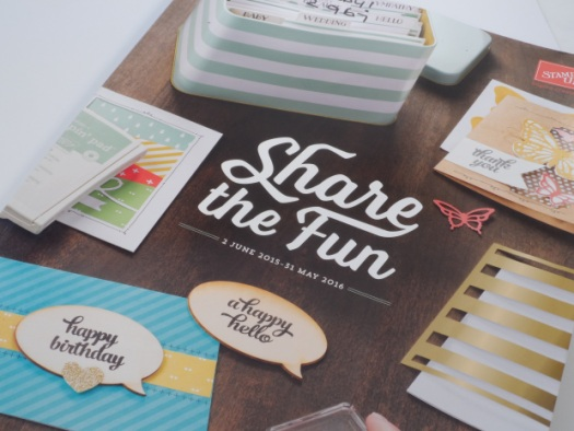 Stampin' Up! UK Catalogue 2015