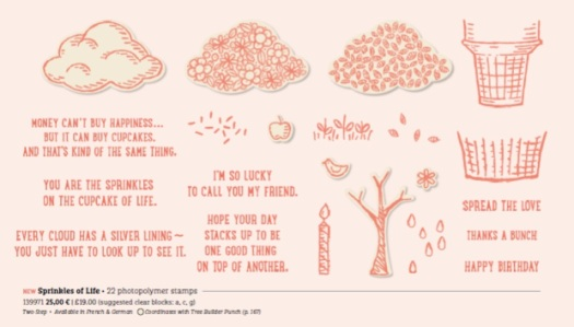 Stampin' Up! UK Sprinkles of Life