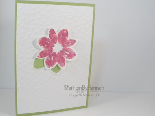 Stampin' Up! UK petal Potpourri