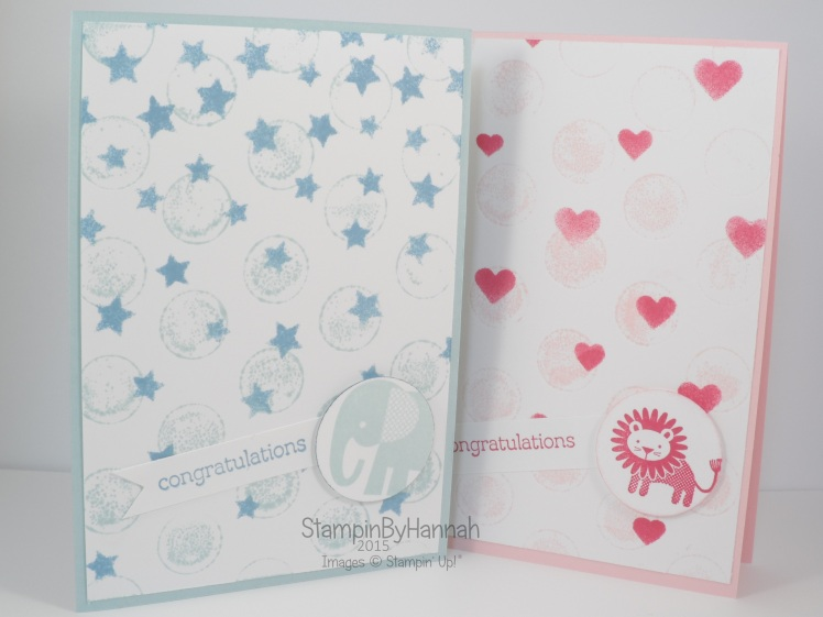 Stampin' Up! UK Zoo Babies Large Polka Dots