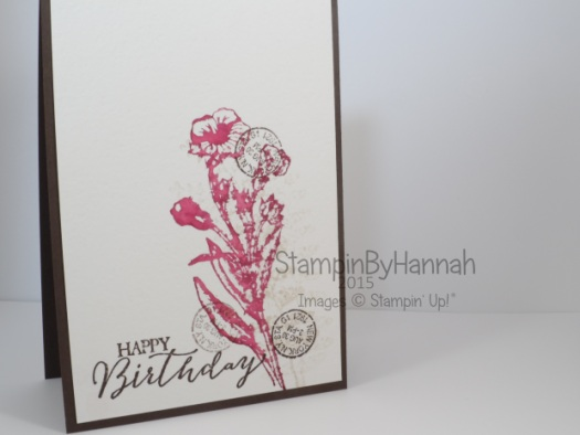 Stampin' Up! UK watercolour butterfly basics