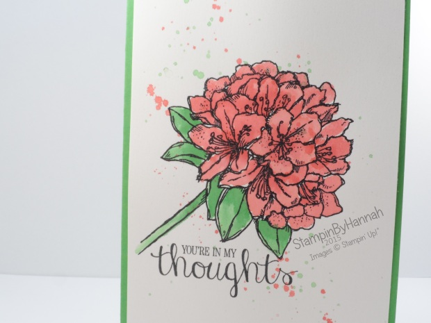 Stampin' Up! UK Best Thoughts Watercolour