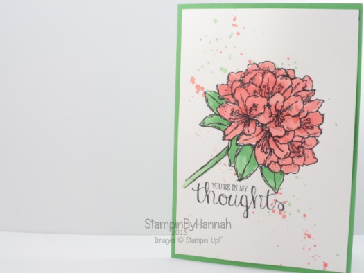 Stampin' Up! UK Best Thoughts Hostess Code Club