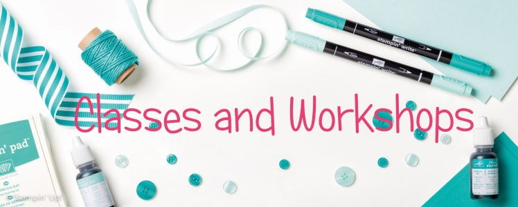 Stampin' Up! UK Teesside Classes and Workshops Cardmaking