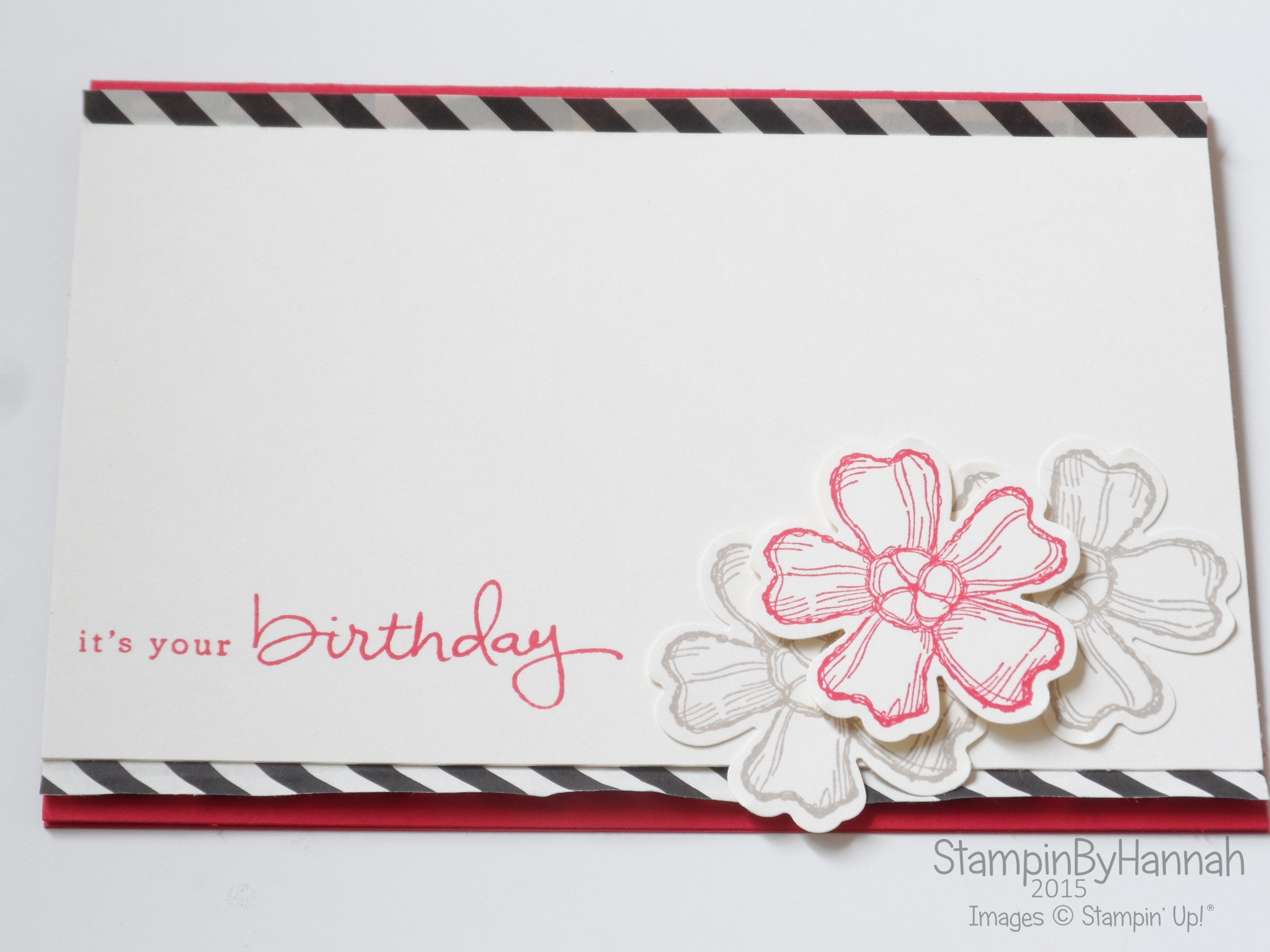 Freshly made sketches 191 its your birthday stampinbyhannah stampin up uk freshly made sketches endless birthday wishes bookmarktalkfo Gallery
