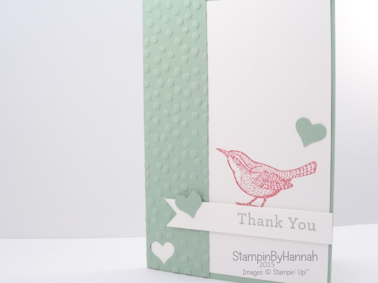Stampin' Up! UK Freshly Made Sketches 190 An Open Heart