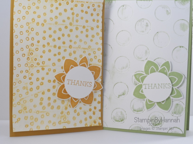 Stampin' Up! UK embossing folders decorative dots