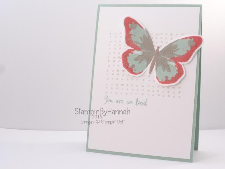 Srtampin' Up! UK Watercolour Wings
