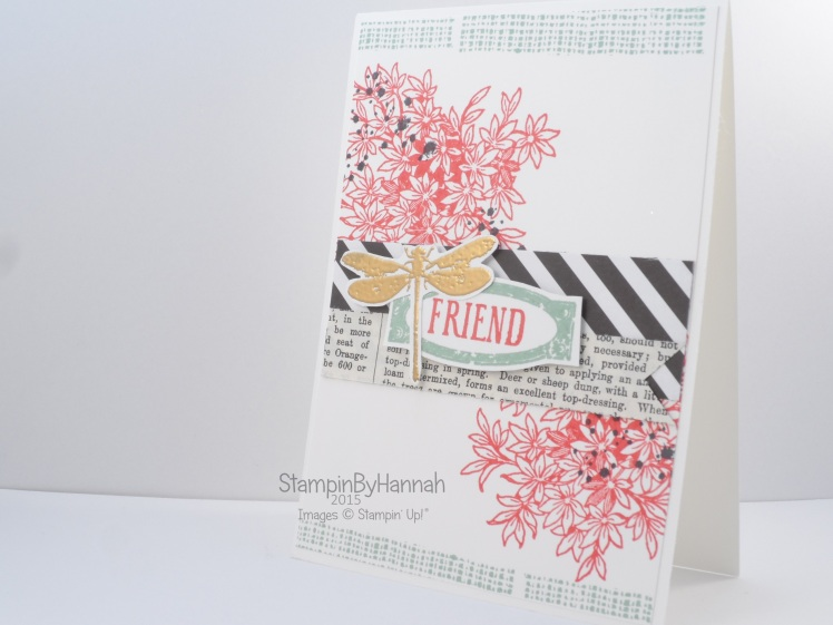 Stampin' Up! UK Stamp Layering Awesomely Artistic Video Tutorial
