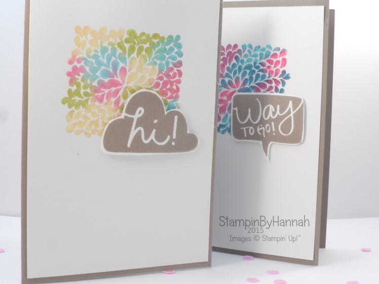 Stampin' Up! UK I think you're great