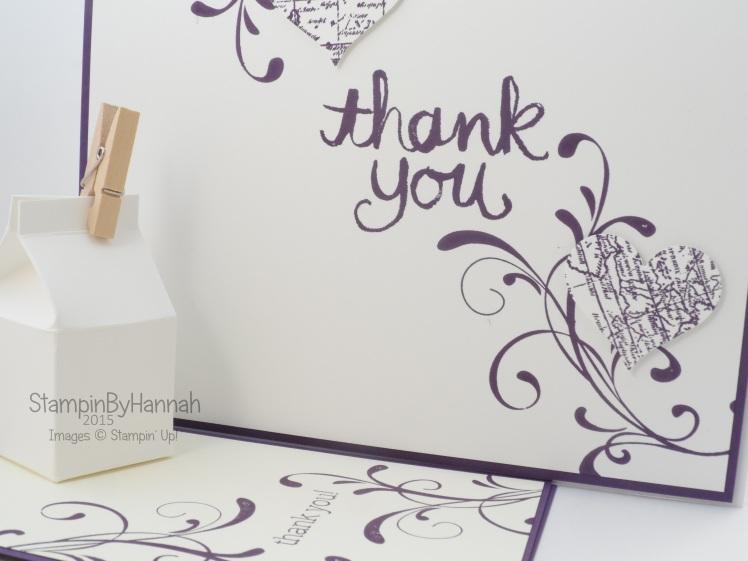 Stampin' Up! UK Wedding cards
