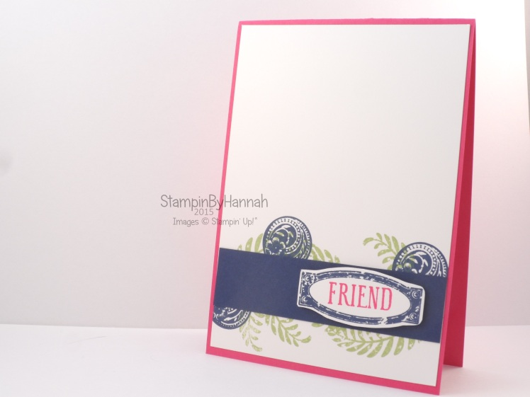 Stampin' Up! UK awesomely artistic modern