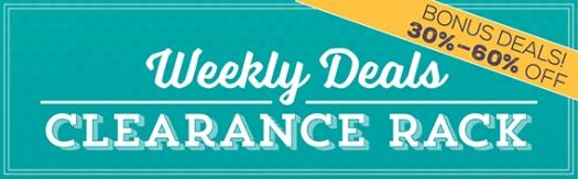 Stampin' Up! UK Weekly Deals Bonus Deals