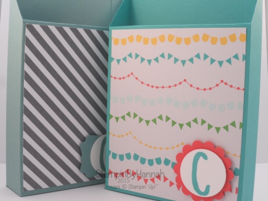 Stampin' Up! UK card storage box video tutorial