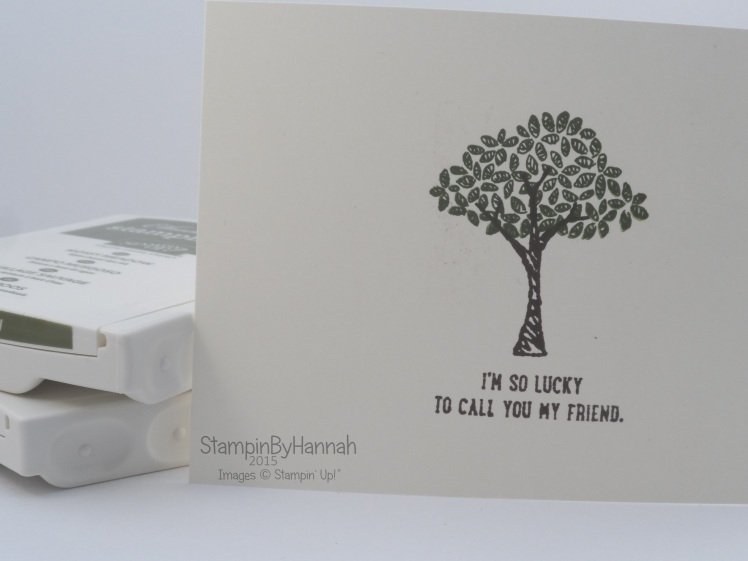 Stampin' Up! UK how to stamp tutorial