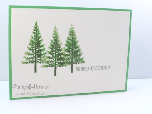 Stampin' Up! UK Festival of Trees Video Tutorial