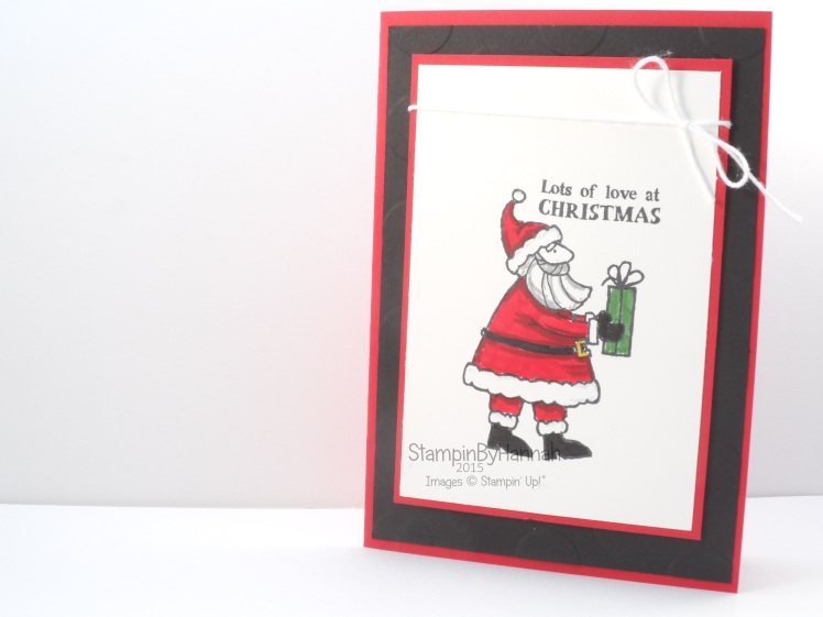 Stampin' Up! Christmas Countdown Santa's Gifts