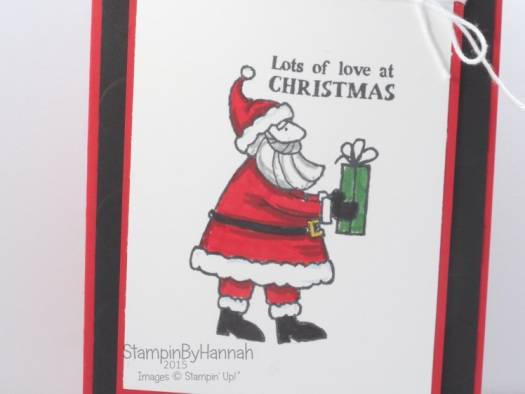 Stampin' Up! Santa's Gifts