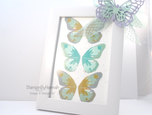 Stampin' Up! UK watercolour wings stamping tutorial