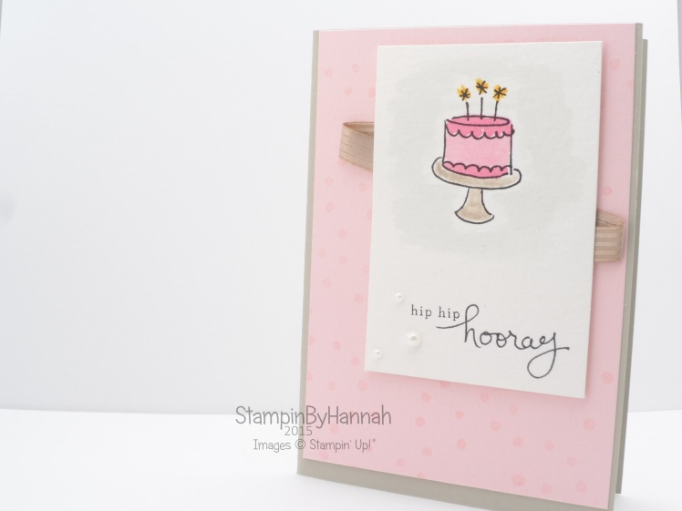 Stampin' Up! UK Endless Birthday Wishes Card CASE catalogue