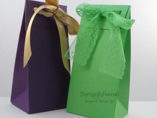 Stampin' Up! UK Gift bag punch board