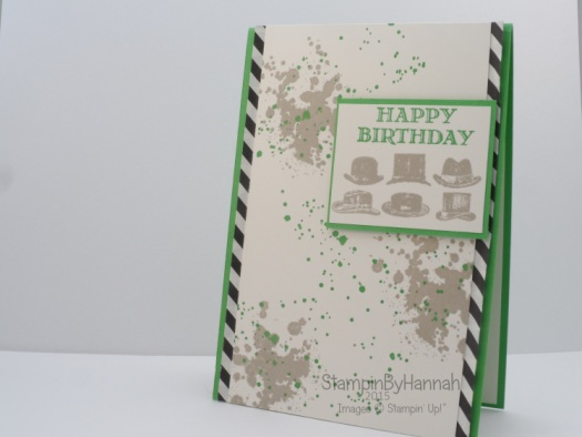 Stampin' Up! UK Guy Greetings Male Birthday