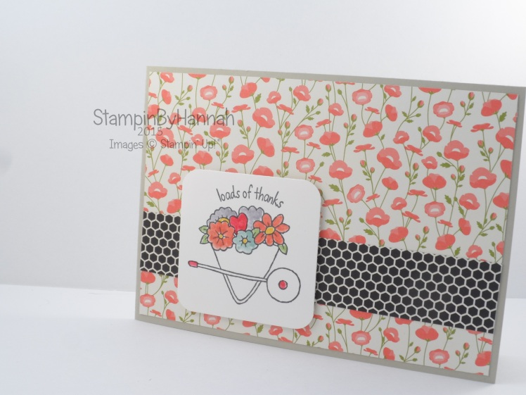 Stampin' Up! UK You're Sublime free class online