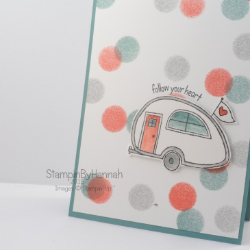 Stampin' Up! UK You're Sublime lost lagoon cute easy card