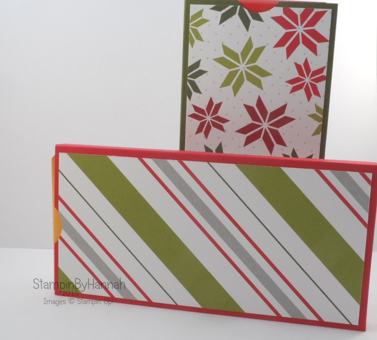 Stampin' Up! UK chocolate wrapper merry moments
