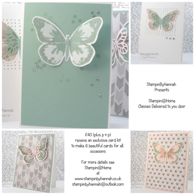 Stampin' Up! UK classes mail order watercolour wings